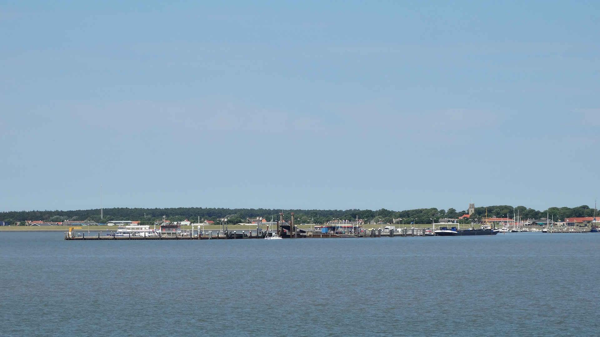 Vakantiebungalows Ameland - De haven op Ameland